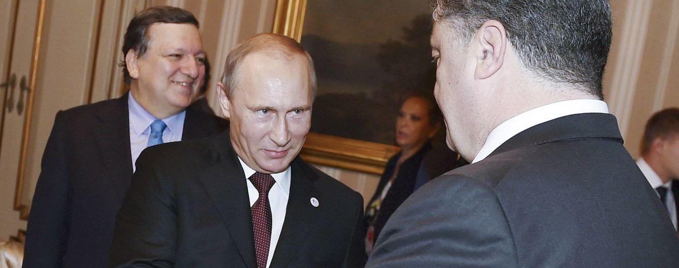 У Путина отрицают, что Порошенко пытался поговорить с ним по телефону из-за захвата кораблей