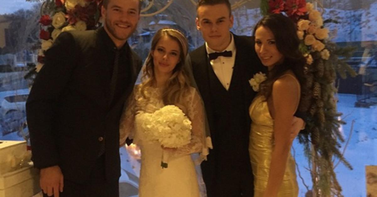 Андрей ярмоленко свадьба фото