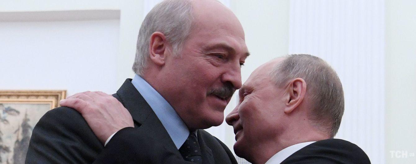 У Путина уверяют, что не планируют присоединять Беларусь к России
