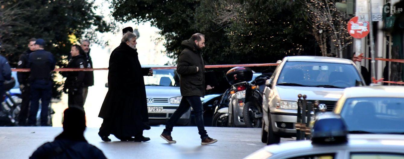 В Афінах біля церкви стався вибух, поранено поліцейського