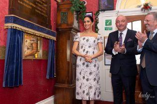 Воно на ній мало не тріснуло: вагітна герцогиня Меган вдягла занадто тісну сукню