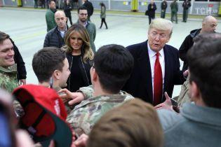 Після раптового візиту до Іраку Трамп вирушив на військову базу в Німеччині