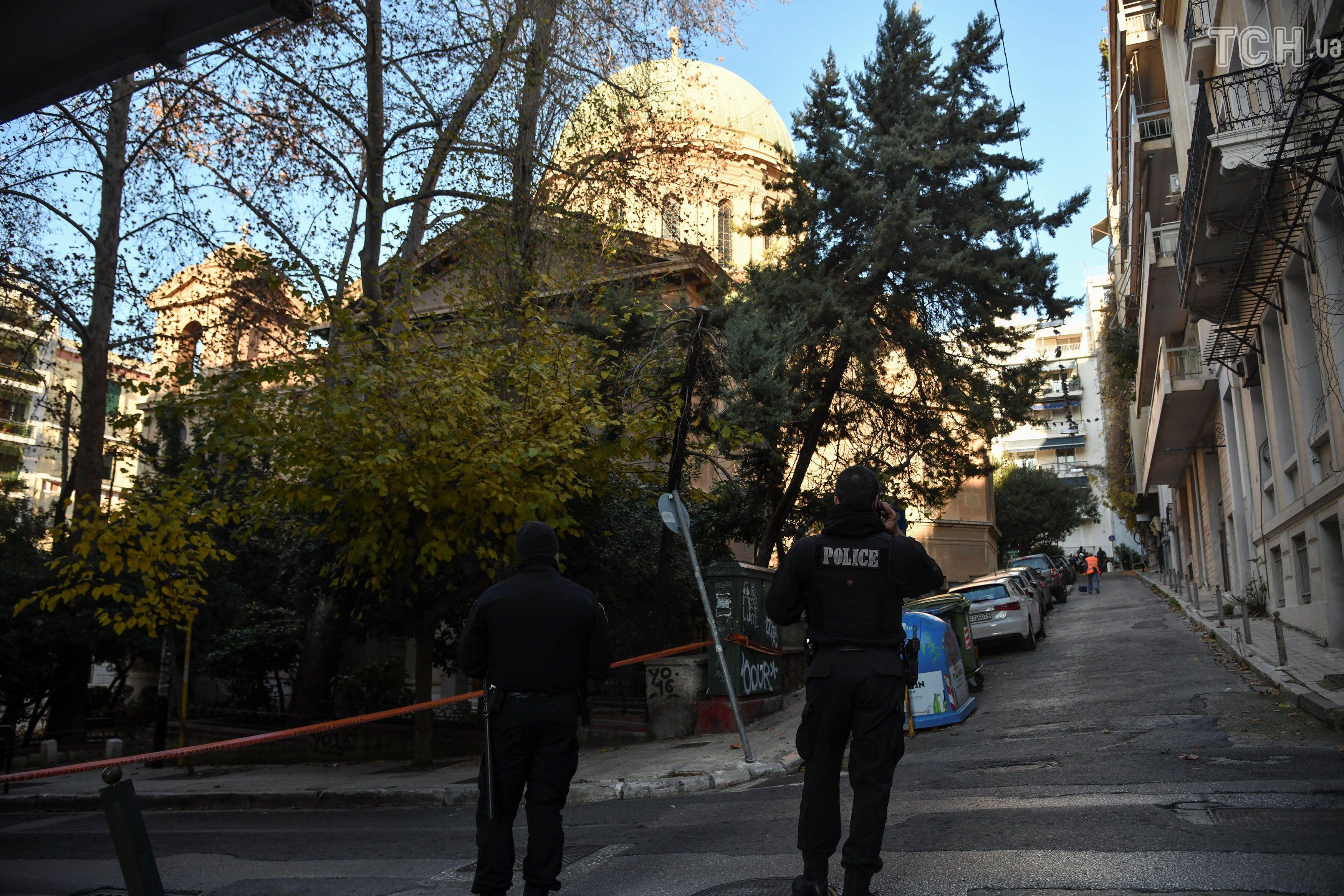 афіни, церква, вибух