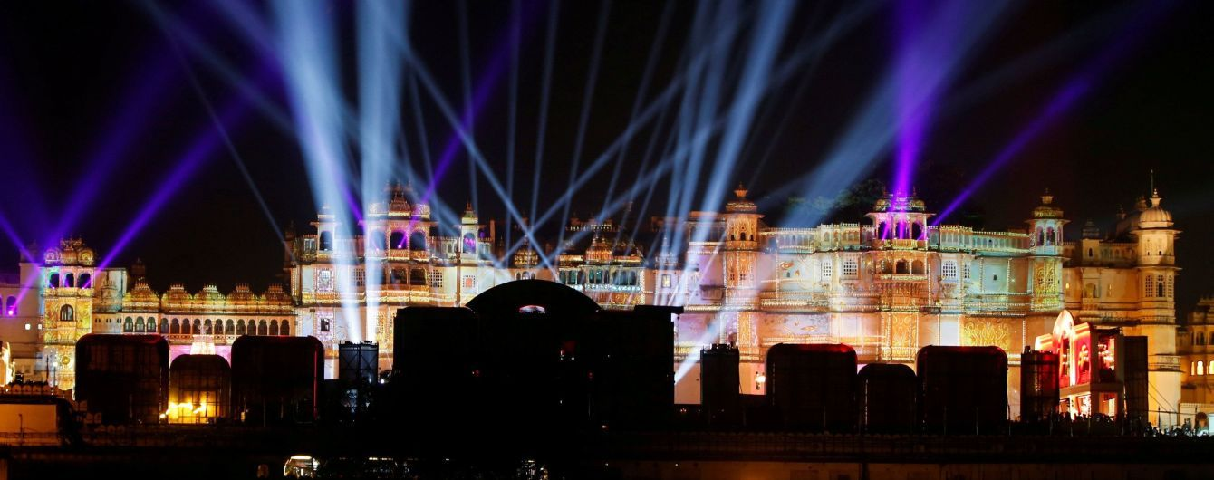 За 100 мільйонів доларів: в Індії відгуляли розкішне весілля дочки індійського мільярдера