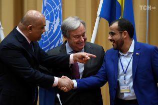 Стороны гражданской войны в Йемене договорились прекратить огонь в Ходейде