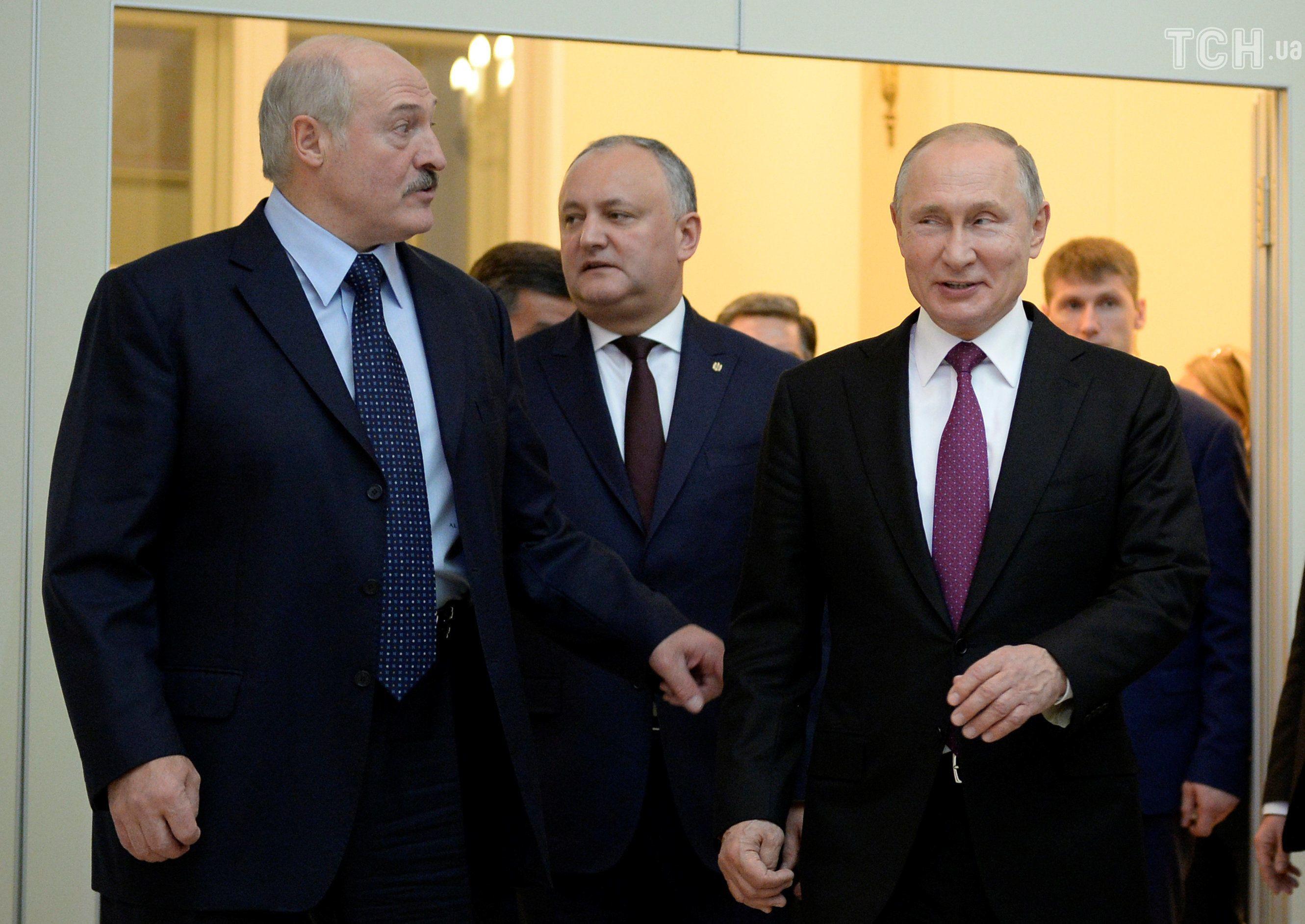 Лукашенко і Путін