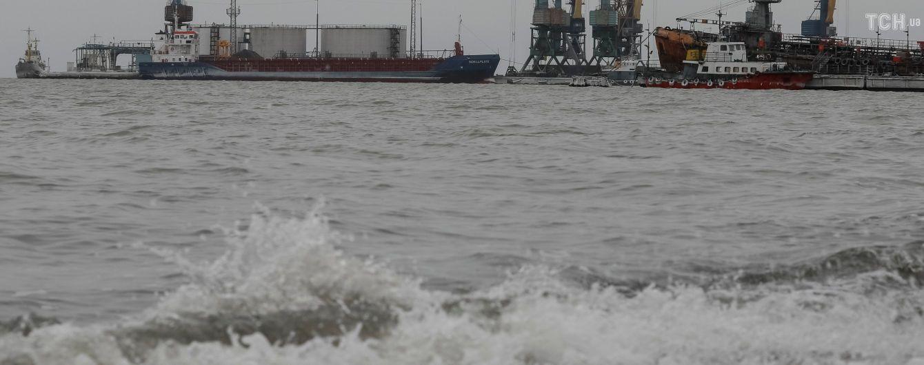 Украина призывает ОБСЕ начать мониторинг акватории Азовского моря