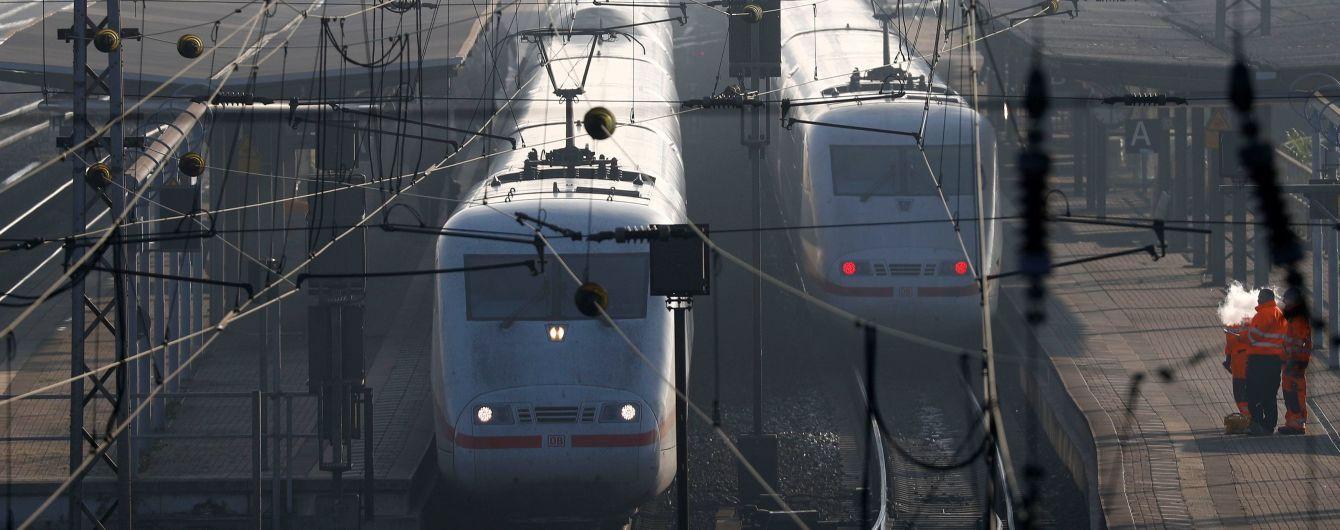 В Германии произошел коллапс на железной дороге из-за забастовки работников