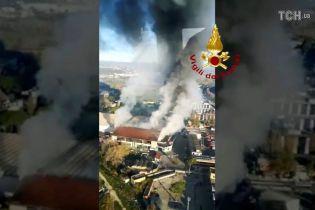 Рим оповило ядучим димом від масштабної пожежі на сміттєзвалищі