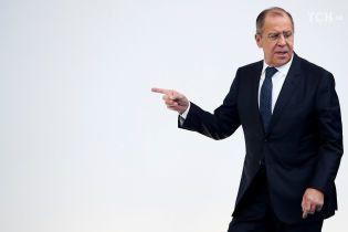 Лавров звинуватив Київ у підготовці провокації поблизу окупованого Криму