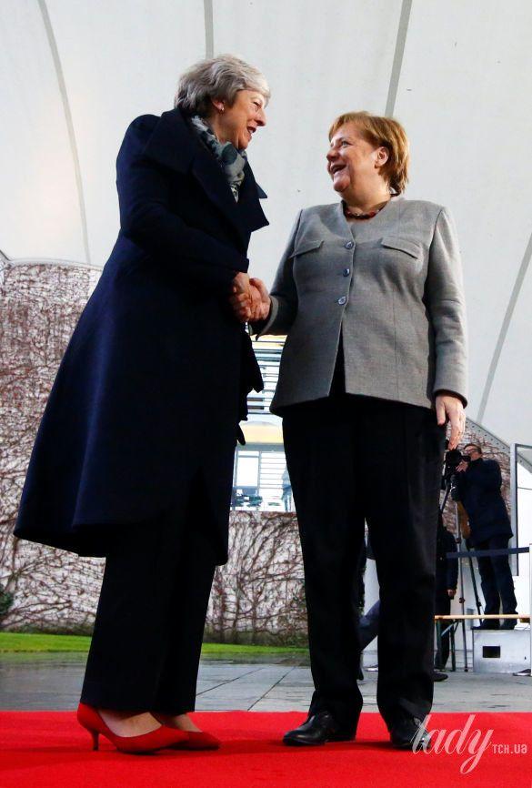 Тереза Мэй и Ангела Меркель_5