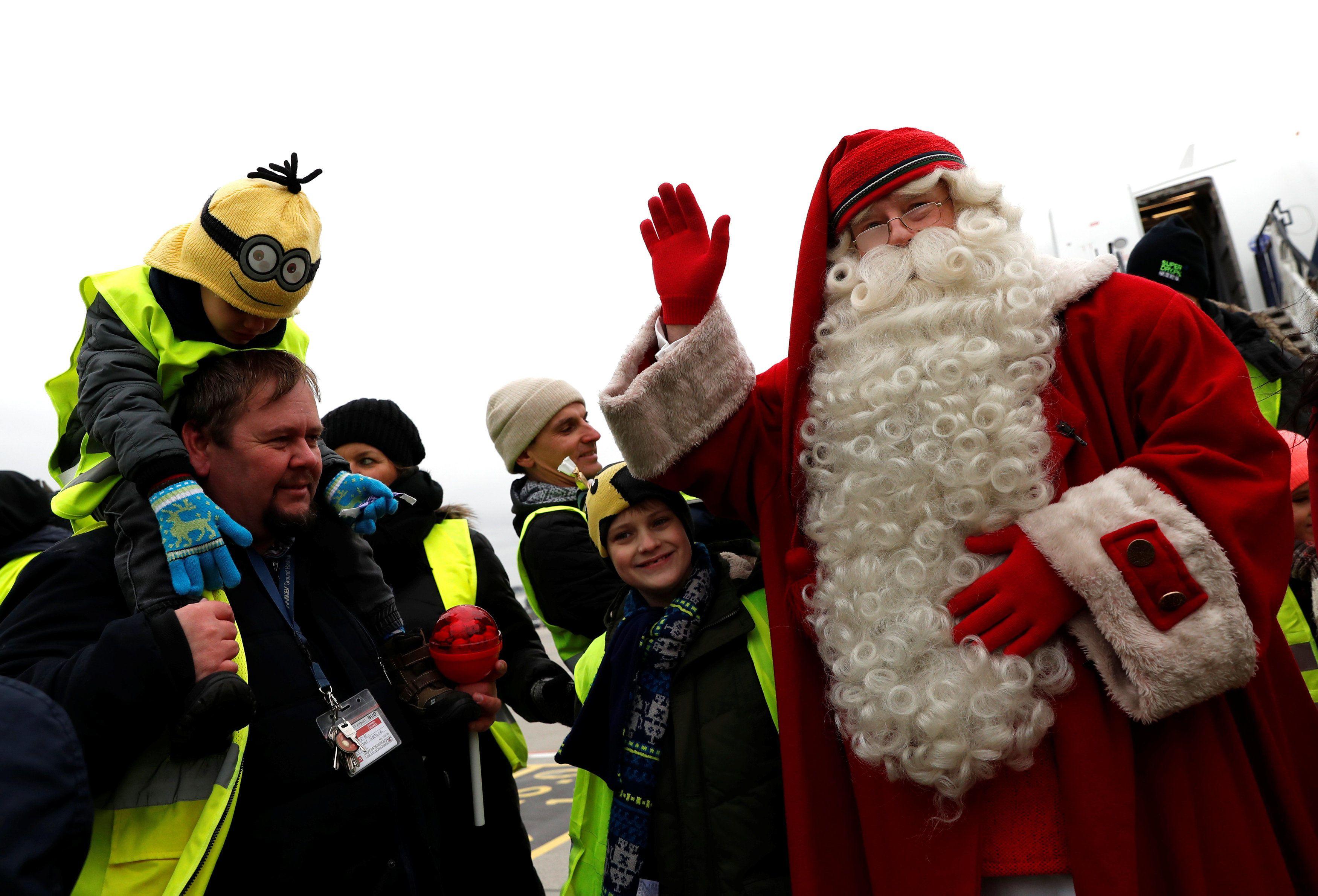 Санта у Фінляндії