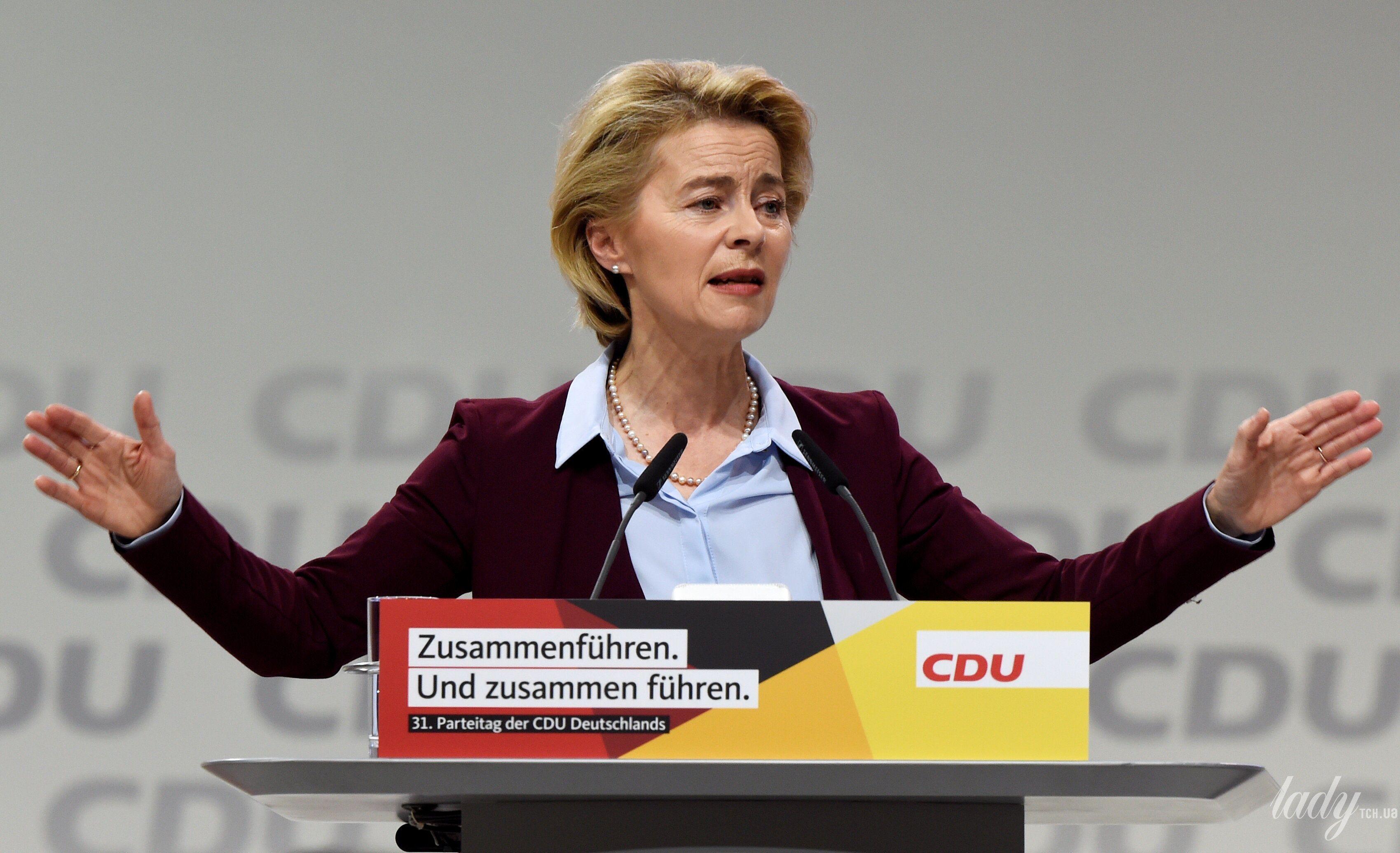 Министр обороны Германии Урсула фон дер Ляйен_3