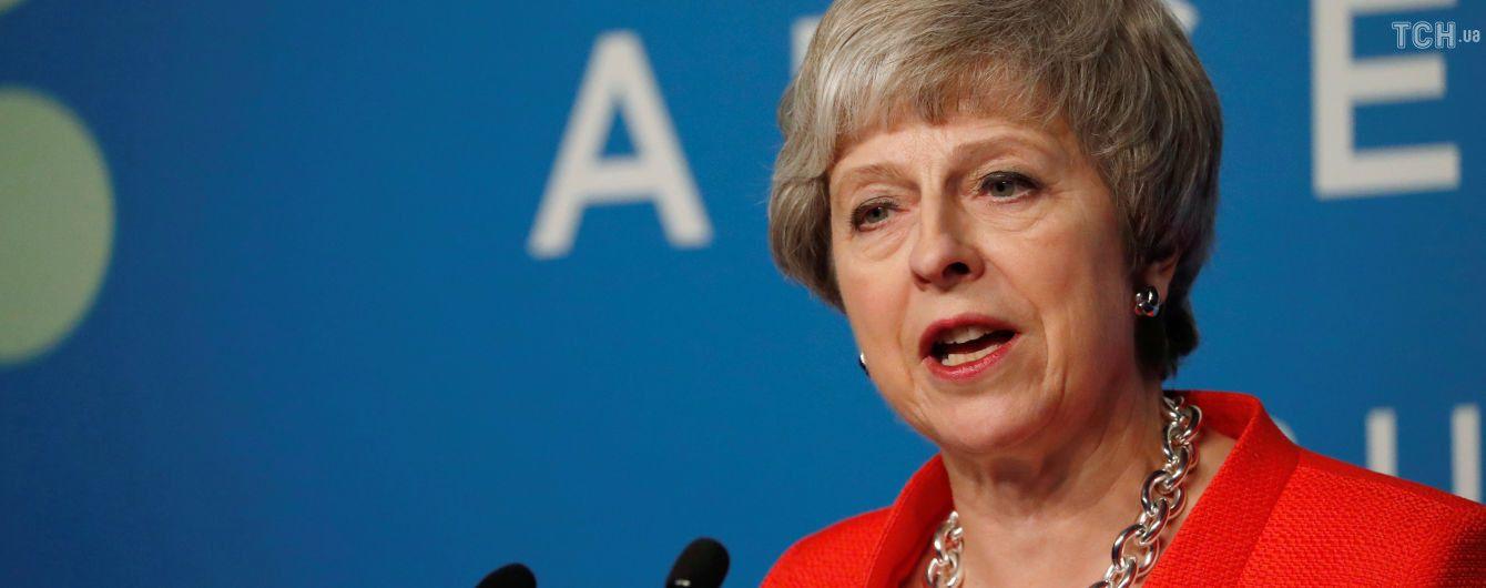 Мэй ответила на возможность второго референдума о Brexit