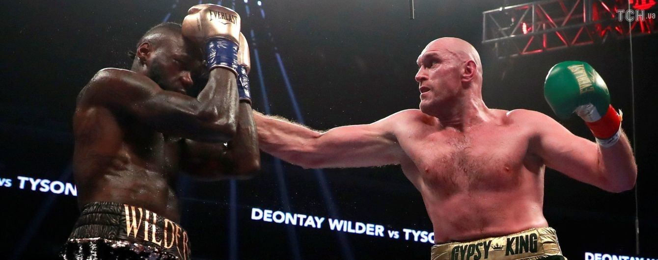 """Ф'юрі запропонував Вайлдеру провести реванш на """"Олд Траффорд"""""""
