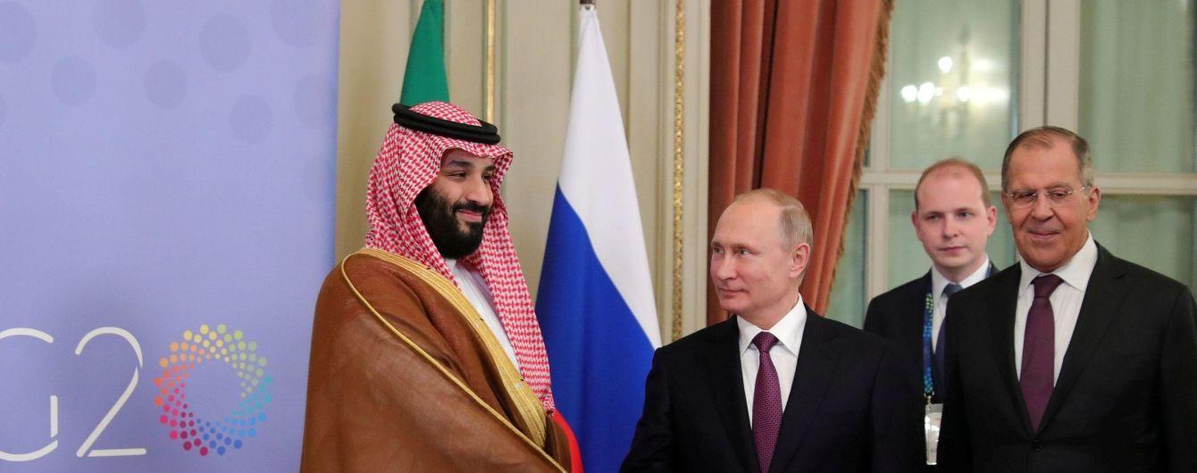 Саудівський принц Мухаммед зустрівся з Путіним під час саміту G20