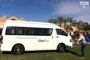 В Египте сервис Uber впервые открыл для заказа автобусы