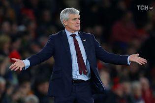 """Англійський клуб звільнив тренера після нічиєї з """"Манчестер Юнайтед"""""""