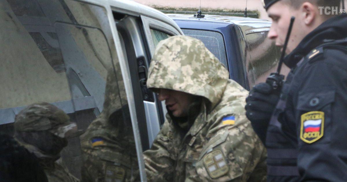 Всі захоплені біля Керченської протоки українські моряки назвали себе військовополоненими