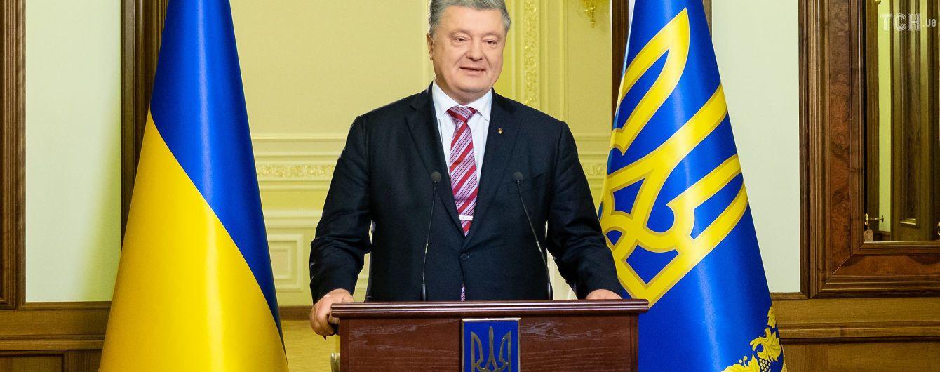 Порошенко планирует поехать за Томосом вместе с главой УПЦ