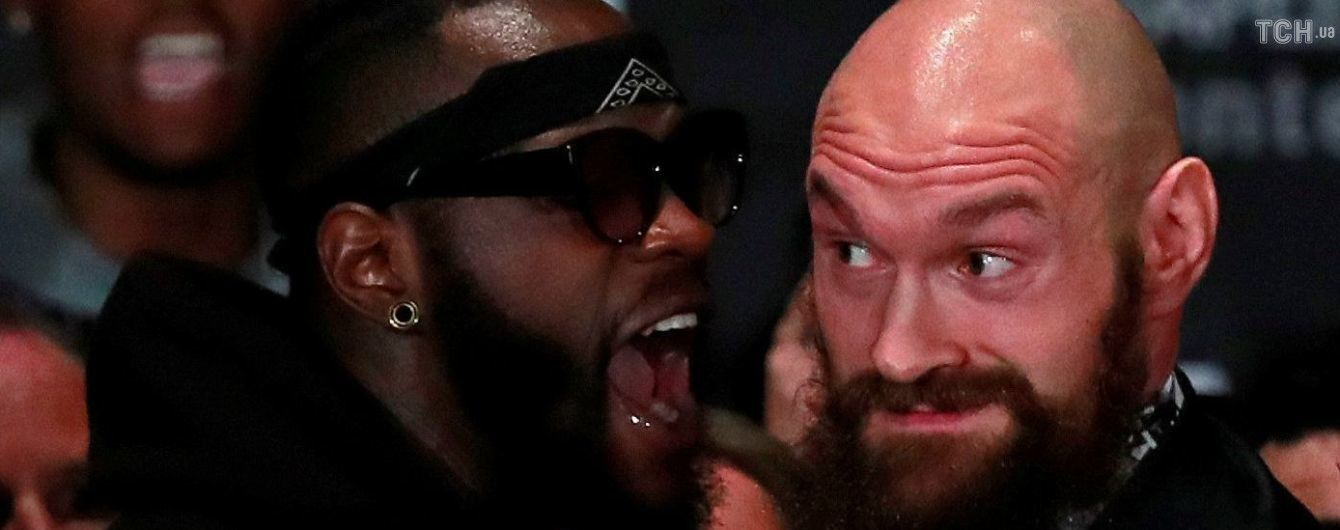 Вайлдер зірвав вирішальну прес-конференцію та накинувся на Ф'юрі, боксерів довелося розбороняти