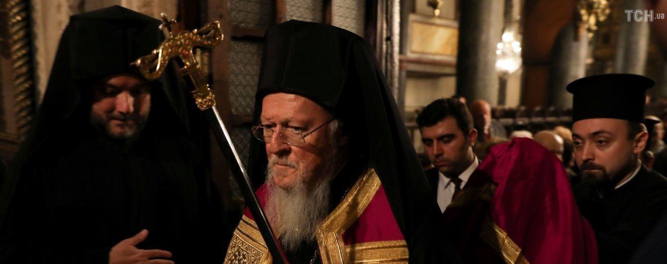 Інформація про прибуття патріарха Варфоломія до Києва виявилася фейком
