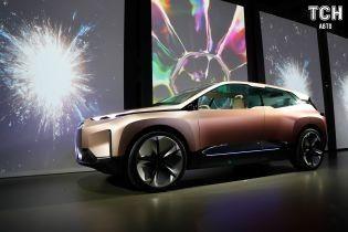 Автосалон в Лос-Анджелесе 2018: BMW показ концепт кроссовера на электрике