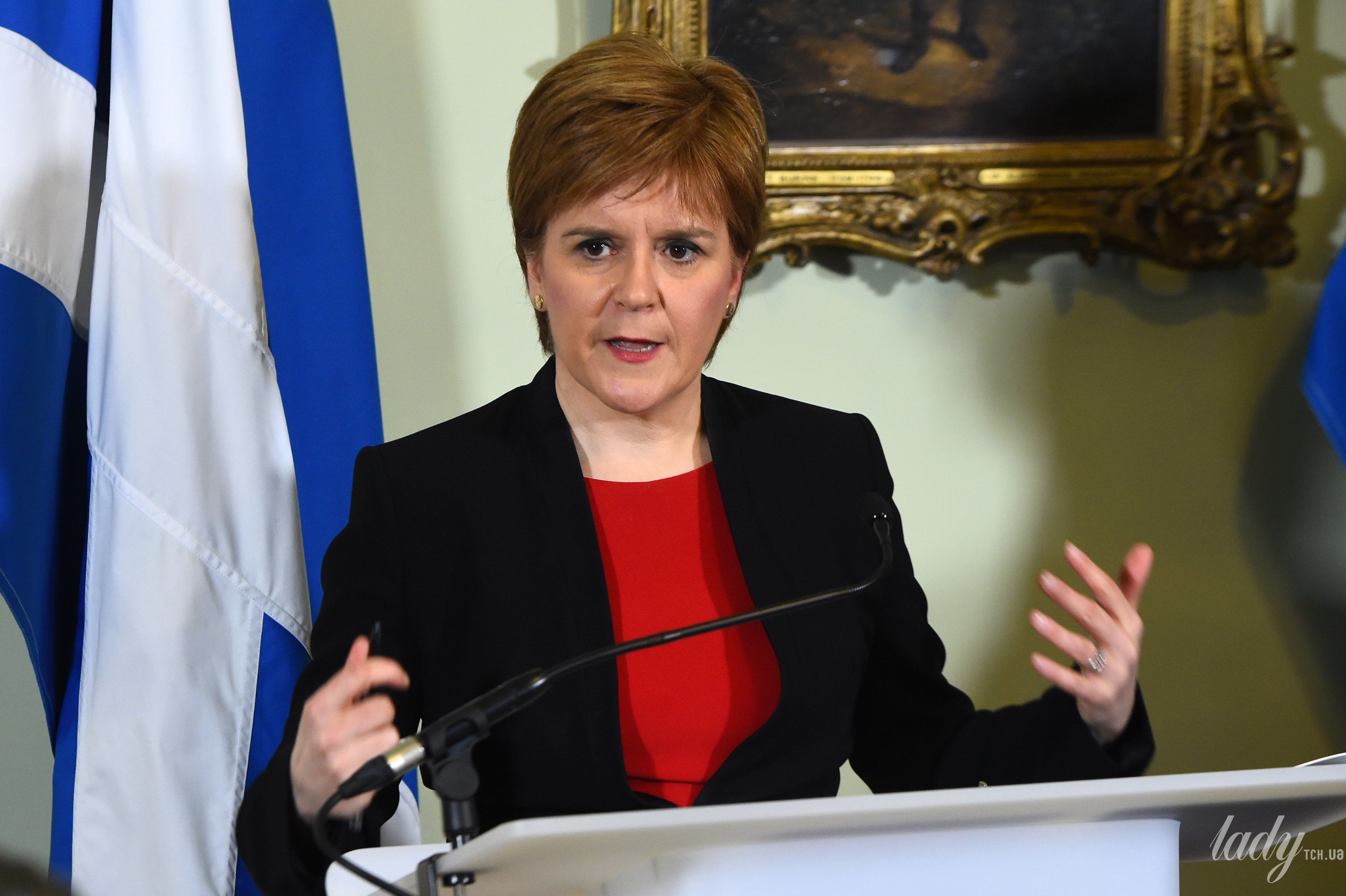 Первый министр Шотландии Никола Стерджен_2