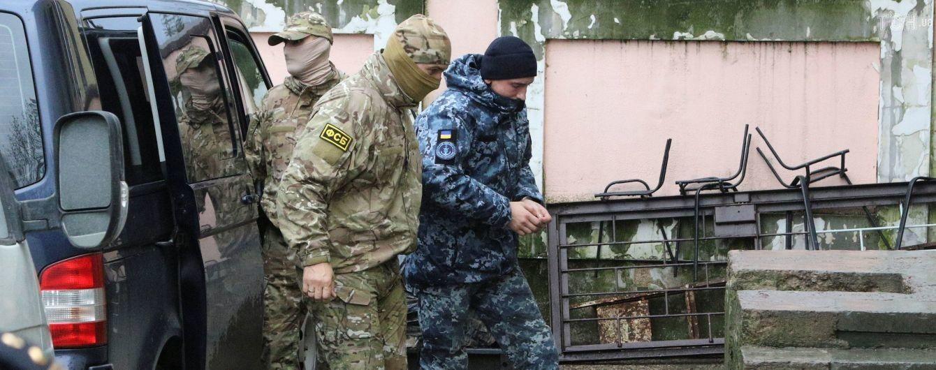 Красный Крест запросил у России доступ к пленным украинским морякам