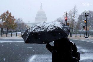 Снігова буря: у США скасували сотні авіарейсів через негоду