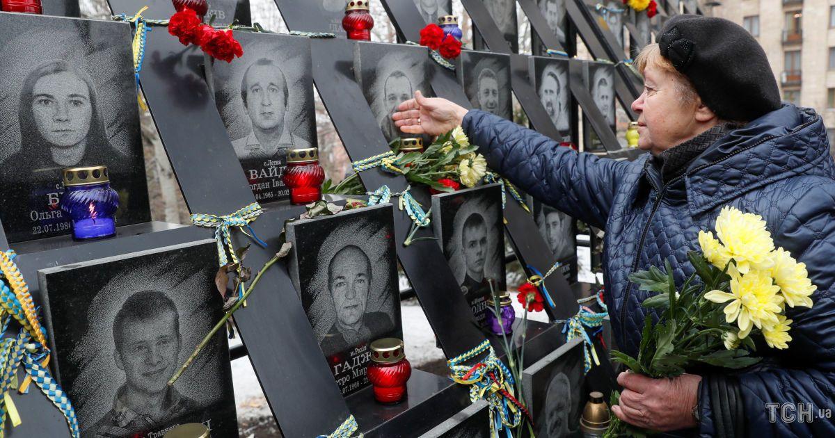 Аллея героев Небесной сотни @ Reuters