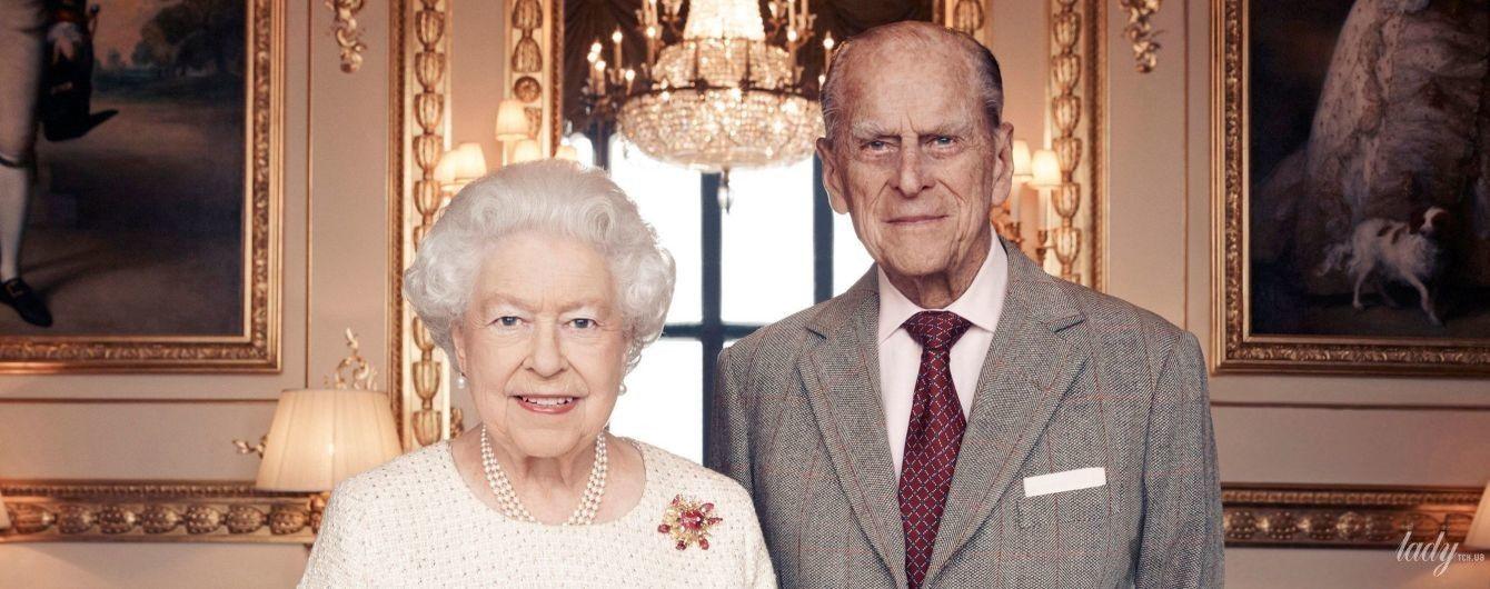 Королева Єлизавета II і принц Філіпп відзначають 71-річну річницю з дня весілля