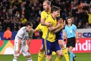 Ліга націй. Швеція впевнено розібралася з Росією та виграла групу