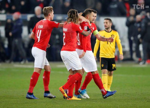 Швейцарія - Бельгія