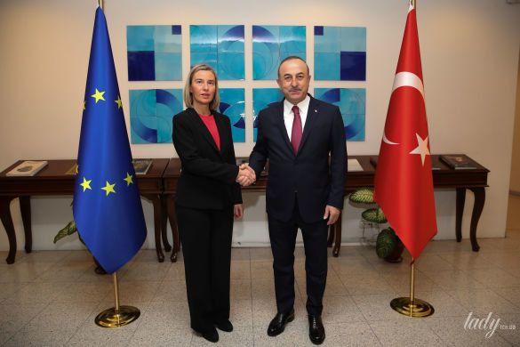 Глава дипломатии ЕС Федерика Могерини_1