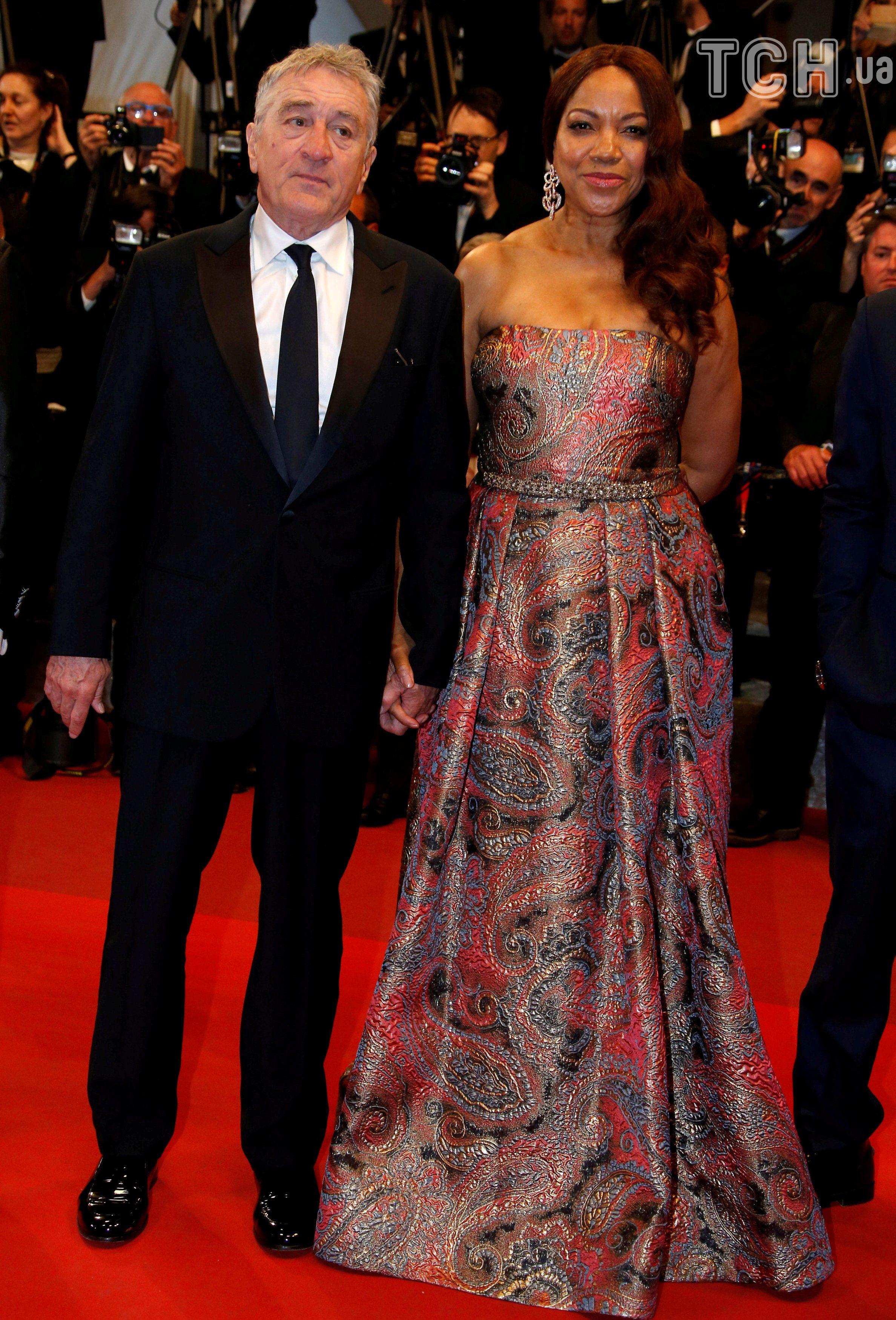 Роберт де Ніро з дружиною