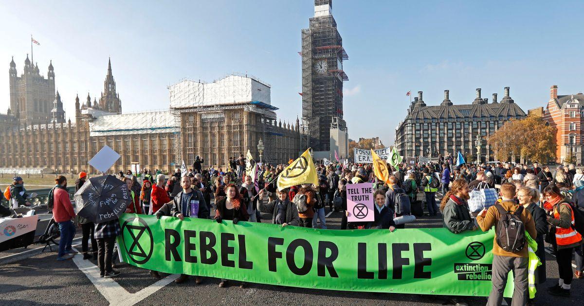 Акция защитников природы в Лондоне @ Reuters
