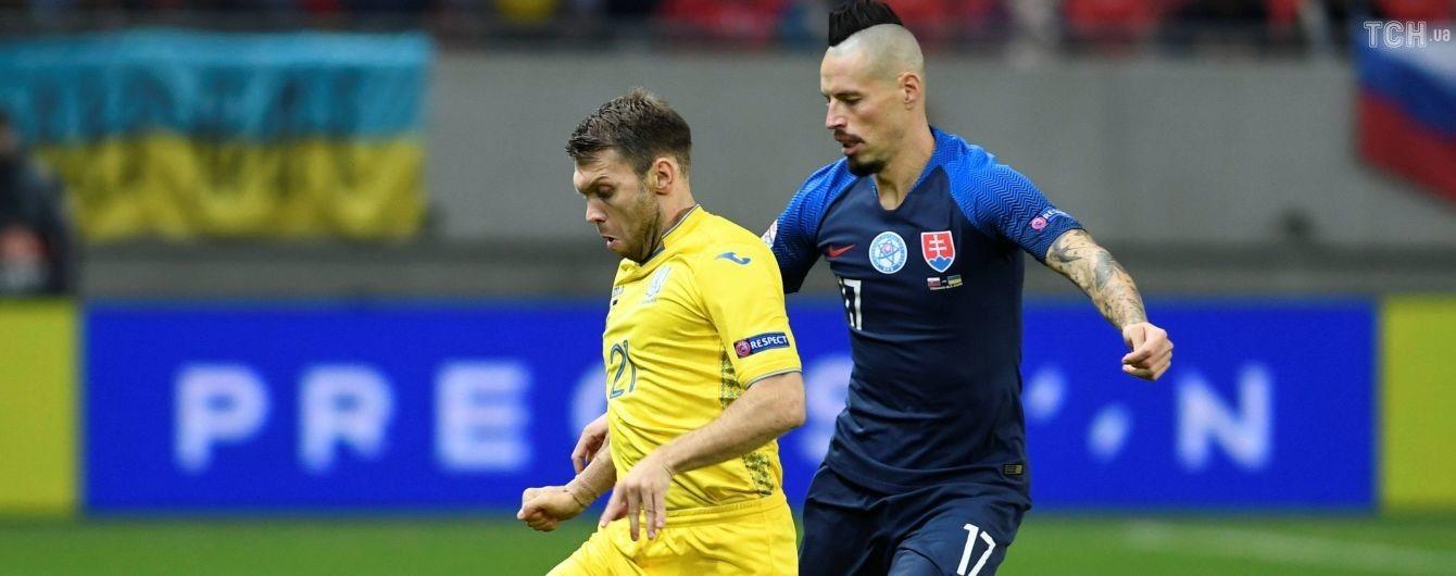 ae3cc588a2d6 Сборная Украины установила ряд антирекордов в матче Лиги наций со Словакией