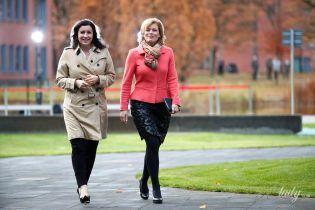 Яркие и стильные: министры правительства Германии на встрече в Потсдаме