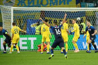 Украина разгромно уступила Словакии в последнем официальном матче года