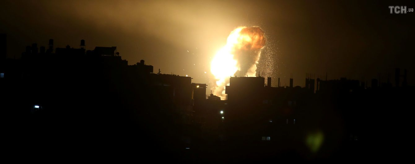 """Ізраїль атакував сектор Гази: шестеро загиблих, у тому числі двоє командирів """"ХАМАС"""""""