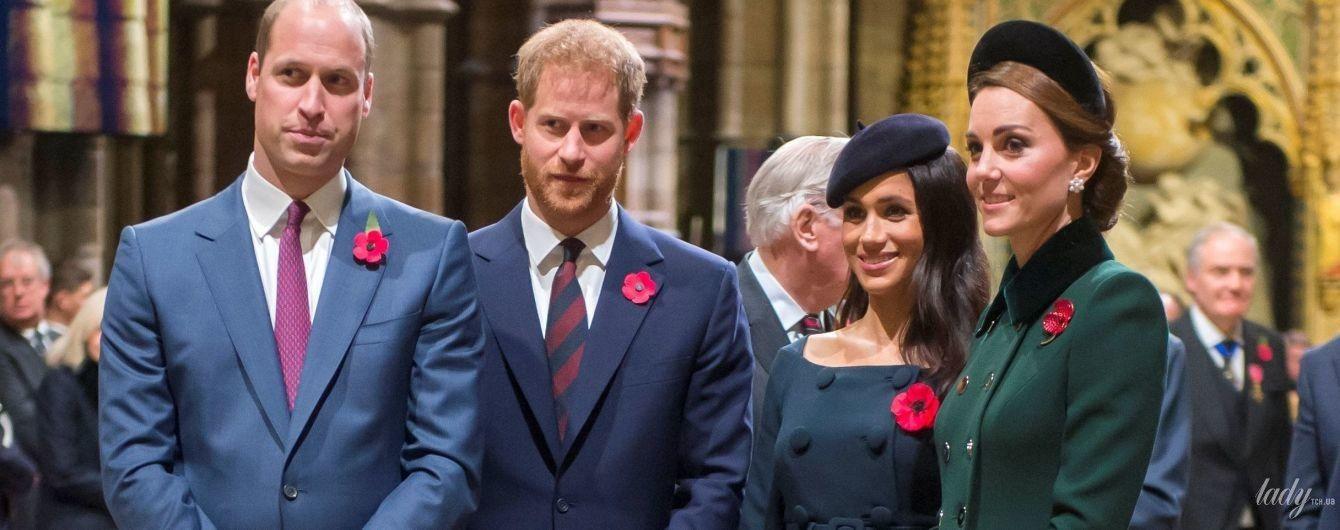 Подготовка к Рождеству: королевская четверка - Уильям, Гарри, Меган и Кейт, проведут праздники вместе