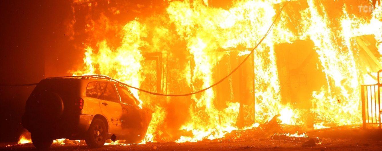 Рай у вогні: лісові пожежі знищили місто Парадайз у Каліфорнії