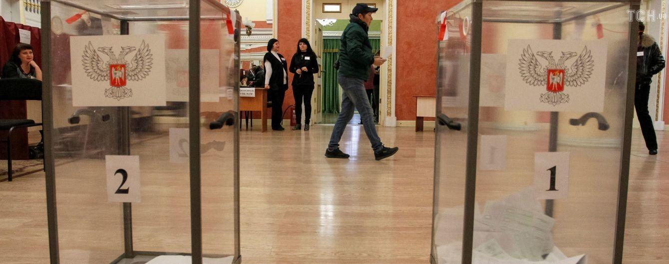 """""""Выборы"""" в ОРДЛО: """"нарисованную"""" победу прогнозируемо получают действующие главари боевиков"""