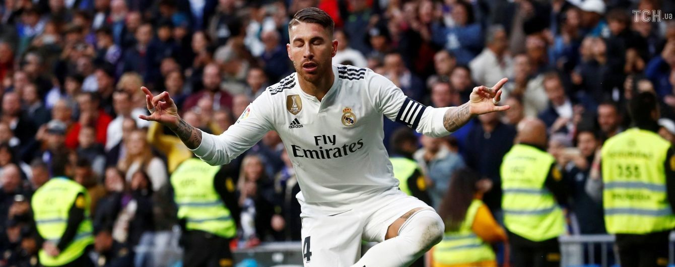 """Рамос-стайл. Защитник """"Реала"""" в кровь разбил нос сопернику и вышел сухим из воды"""