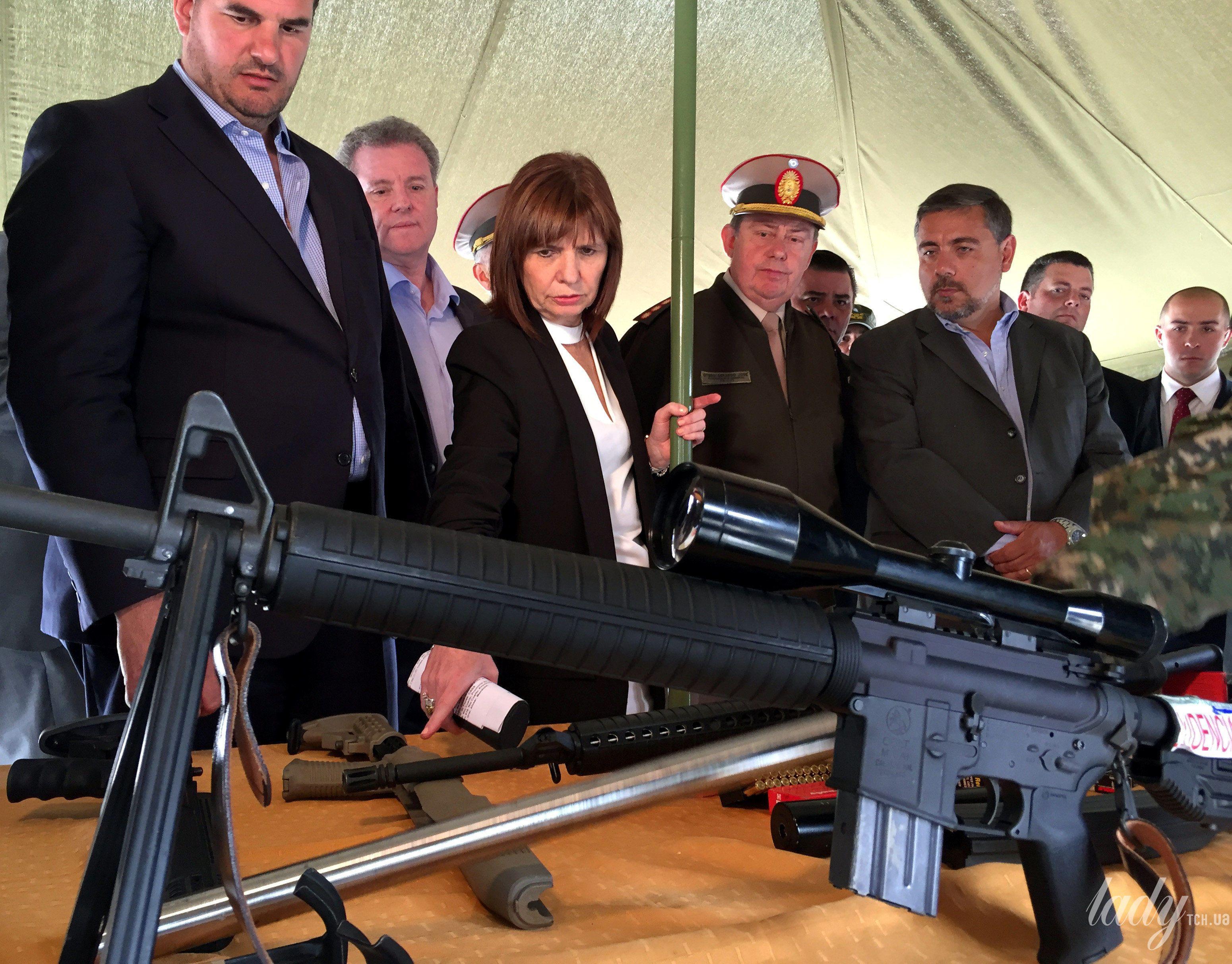 Министр безопасности Аргентины Патрисия Буллрич_2