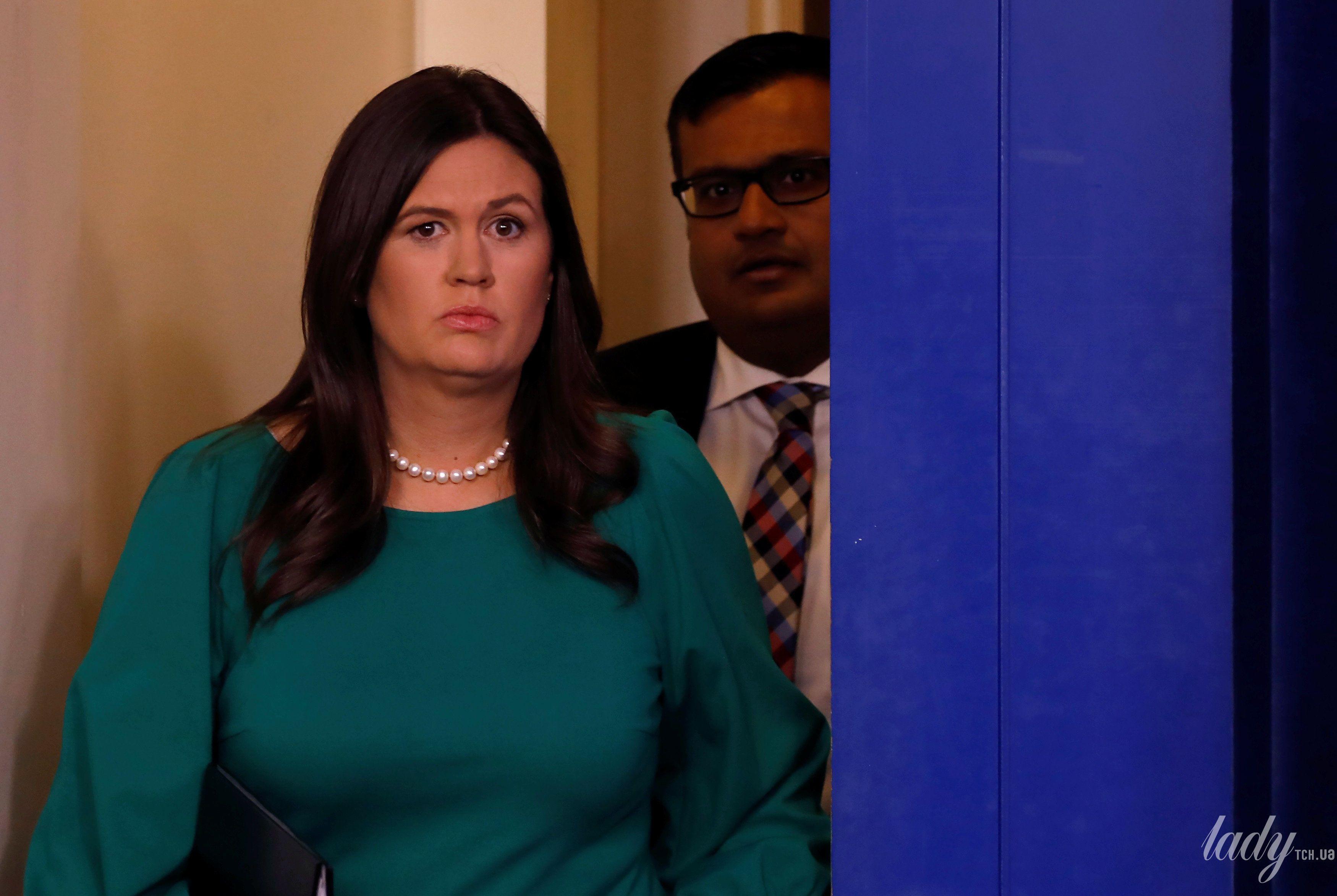 Пресс-секретарь Белого дома США_1