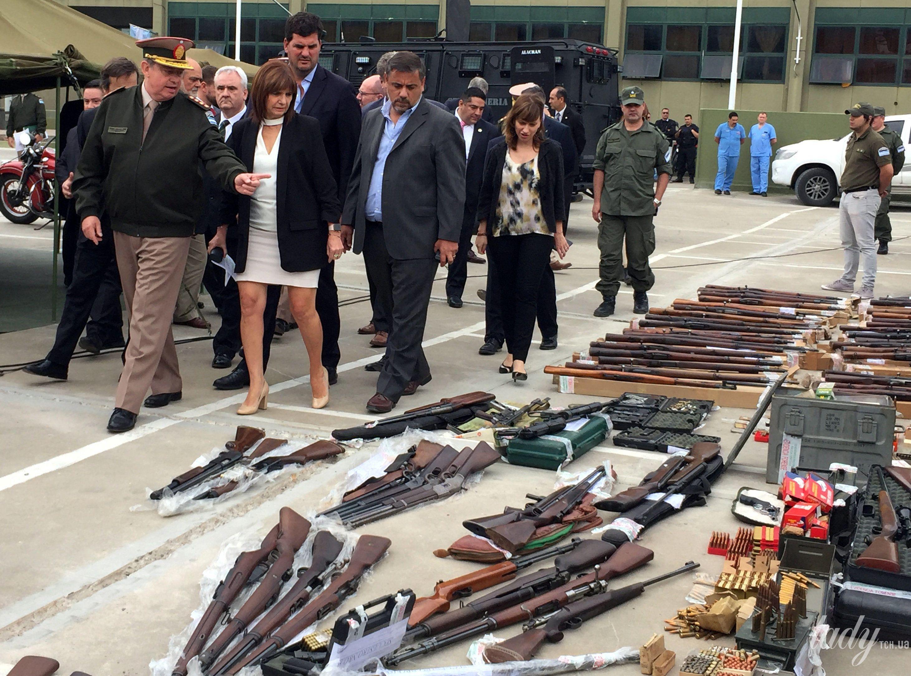 Министр безопасности Аргентины Патрисия Буллрич_1