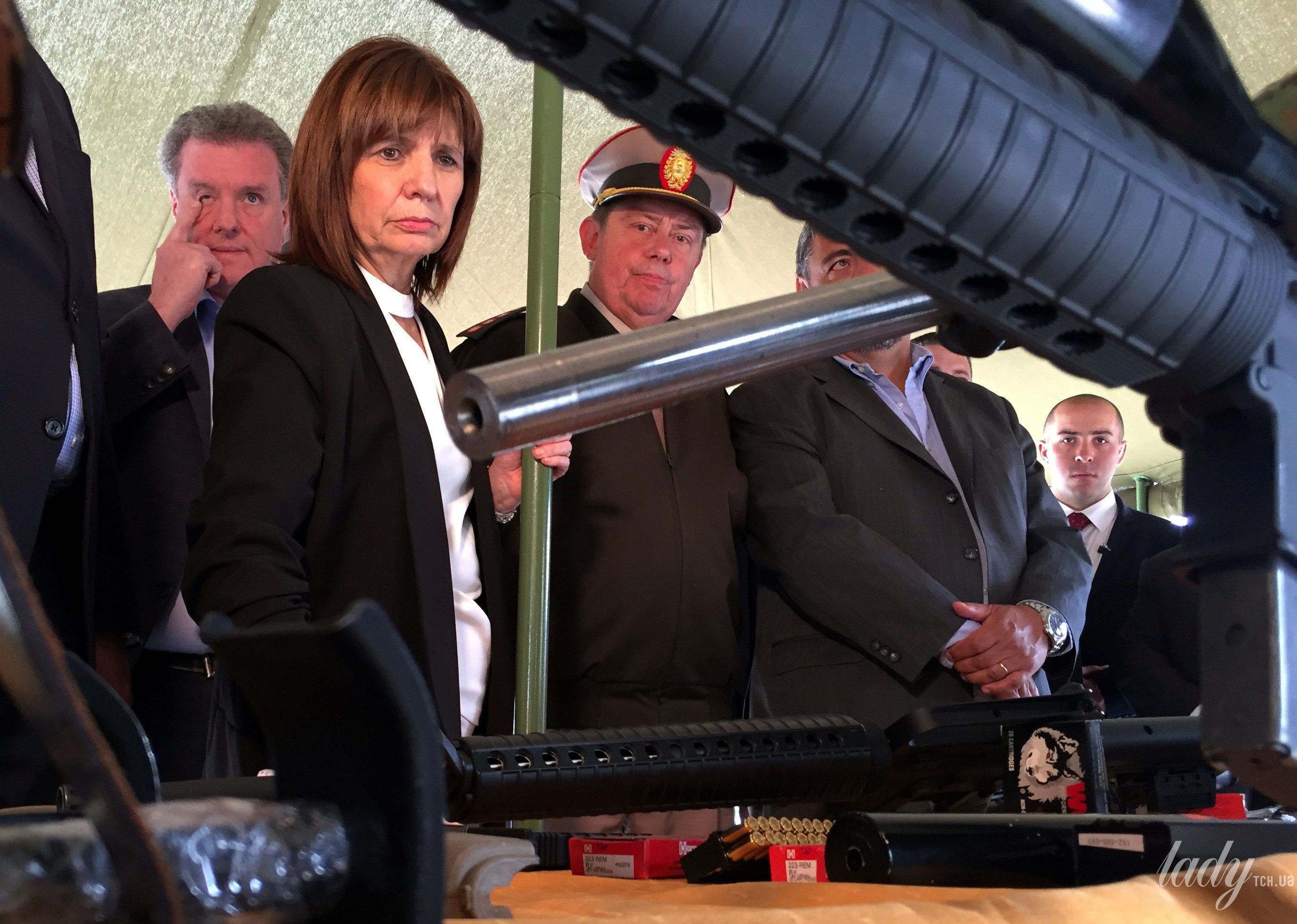 Министр безопасности Аргентины Патрисия Буллрич_3