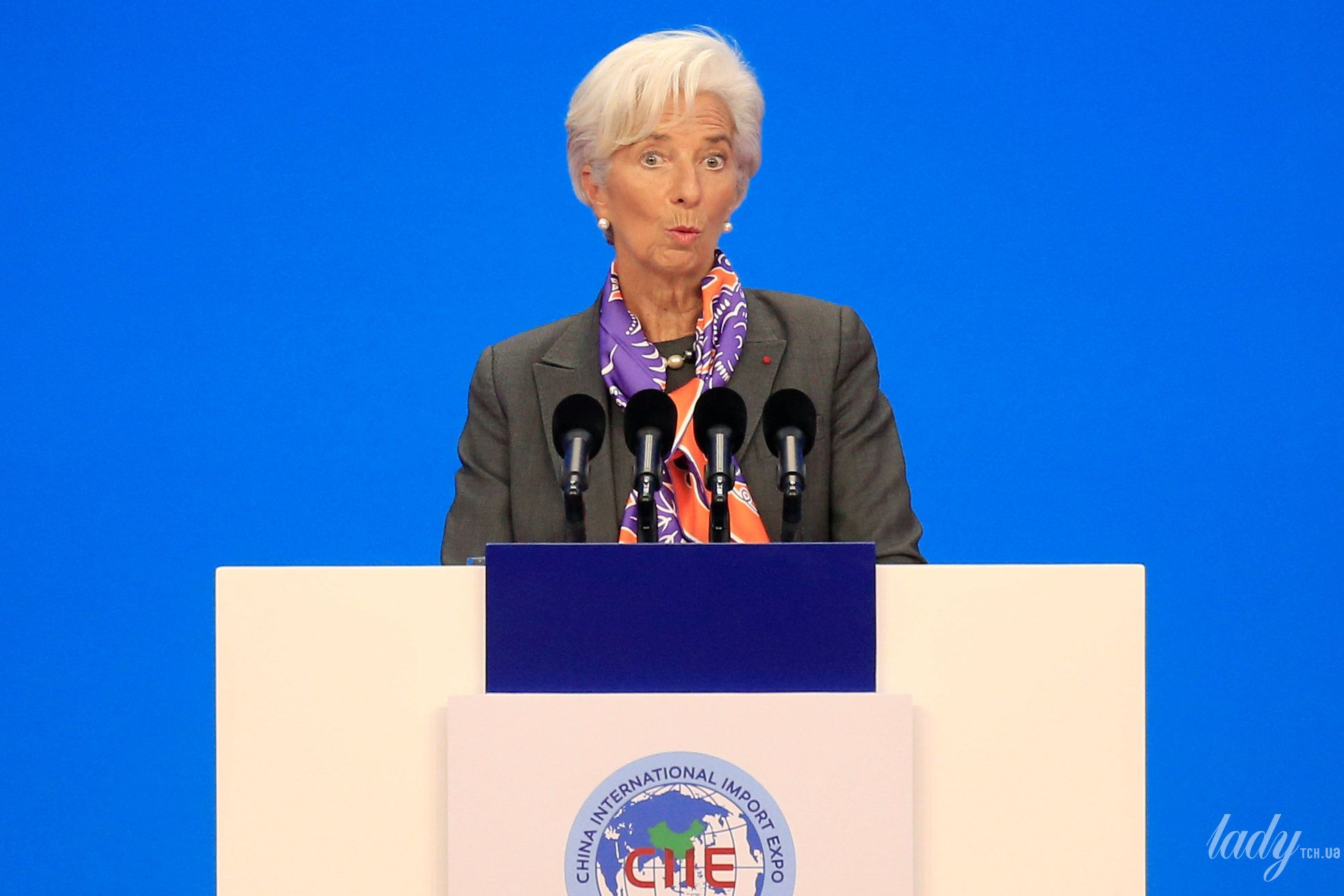 Глава Международного валютного фонда Кристин Лагард_1